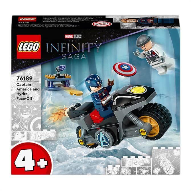 Lego Marvel Captain America Hydra Face-Off Set 76189