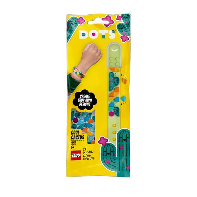 Lego Dots Cool Cactus Bracelet Craft Set 41922