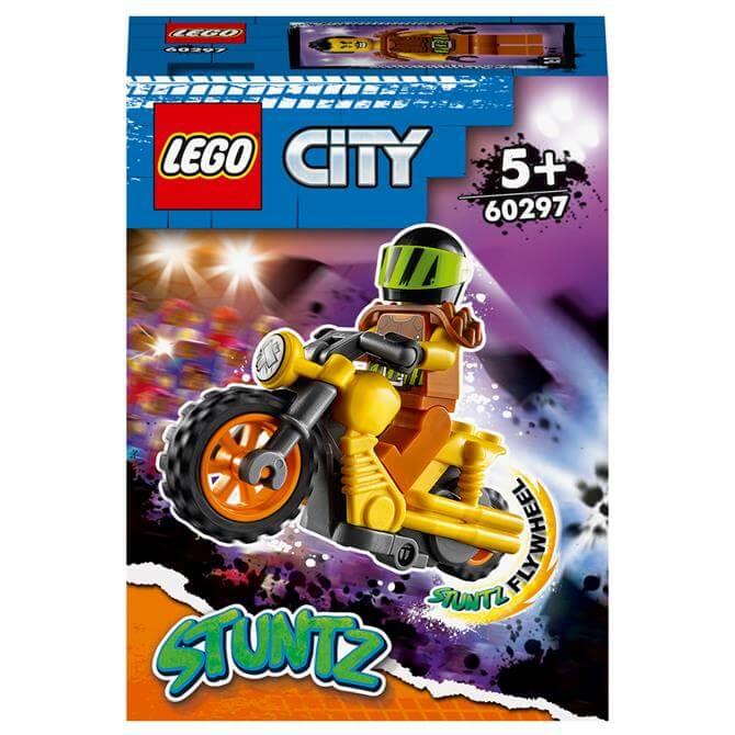 Lego City Demolition Stunt Bike 60297