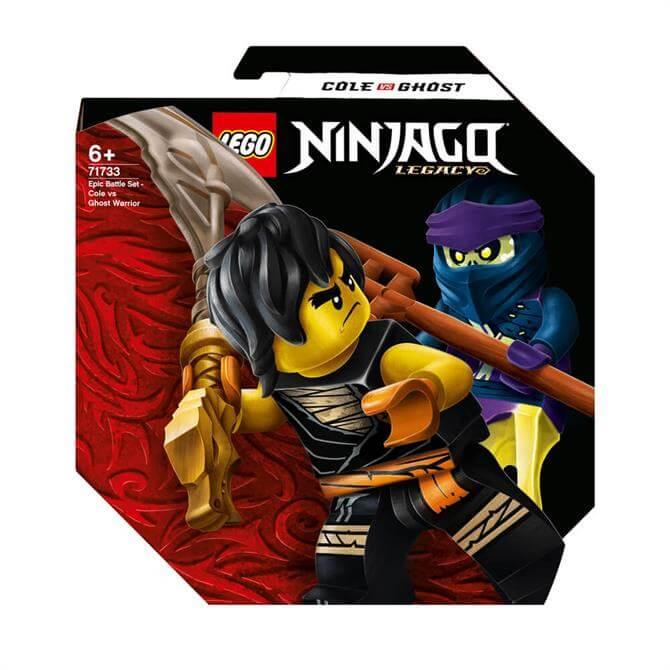 Lego Ninjago Epic Battle Set - Cole vs Ghost Warrior 71733