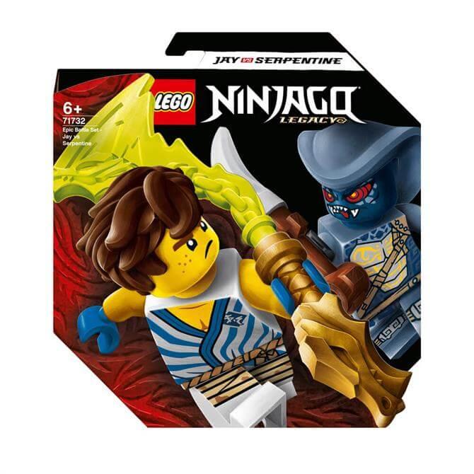 Lego Ninjago Epic Battle Set - Jay vs Serpentine