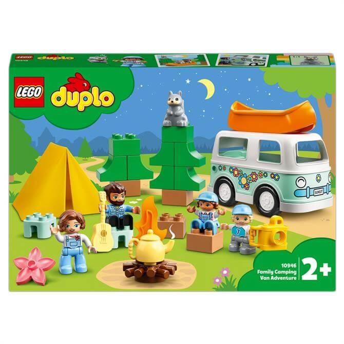 Lego Duplo Family Camping Van Adventure Set 10946
