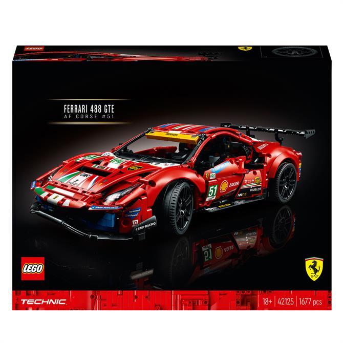 Lego Technic Ferrari 42125