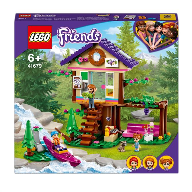 Lego Friends Forest House Treehouse Set 41679