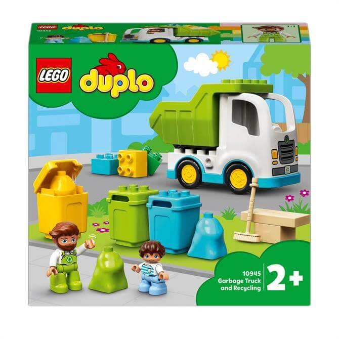 Lego Duplo Town Garbage Truck & Recycling Toy 10945