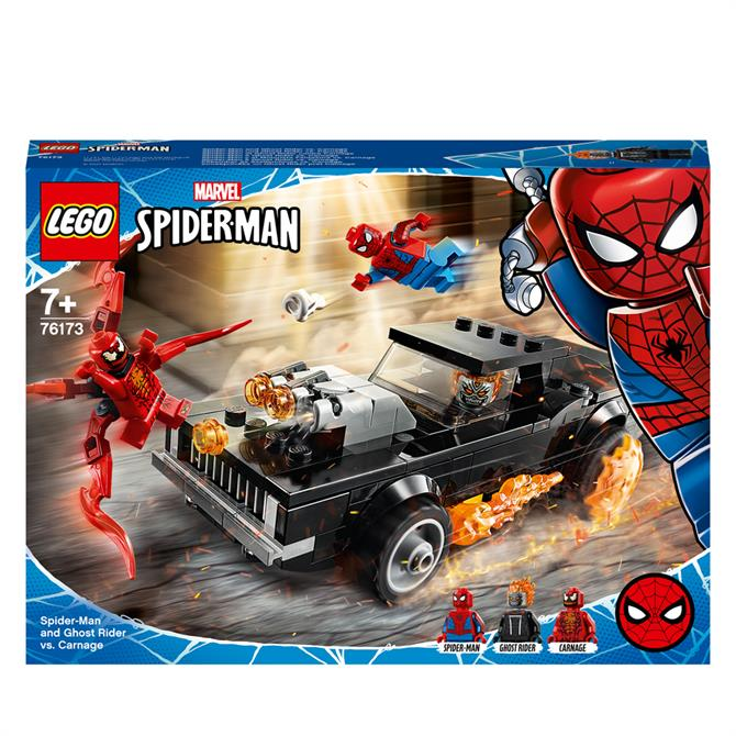 Lego Spider-Man and Ghost Rider vs Carnage 76173