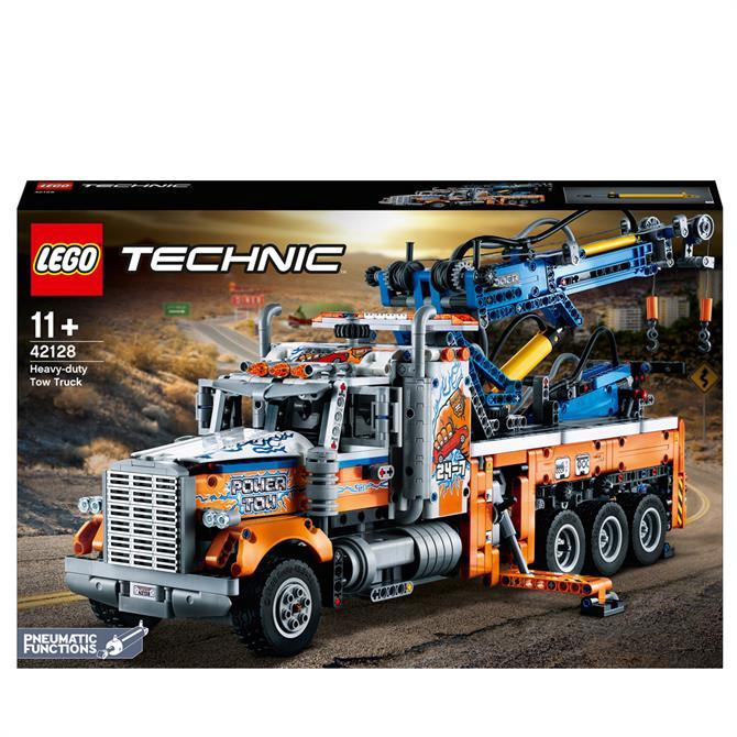 Lego Heavy-Duty Tow Truck 42128