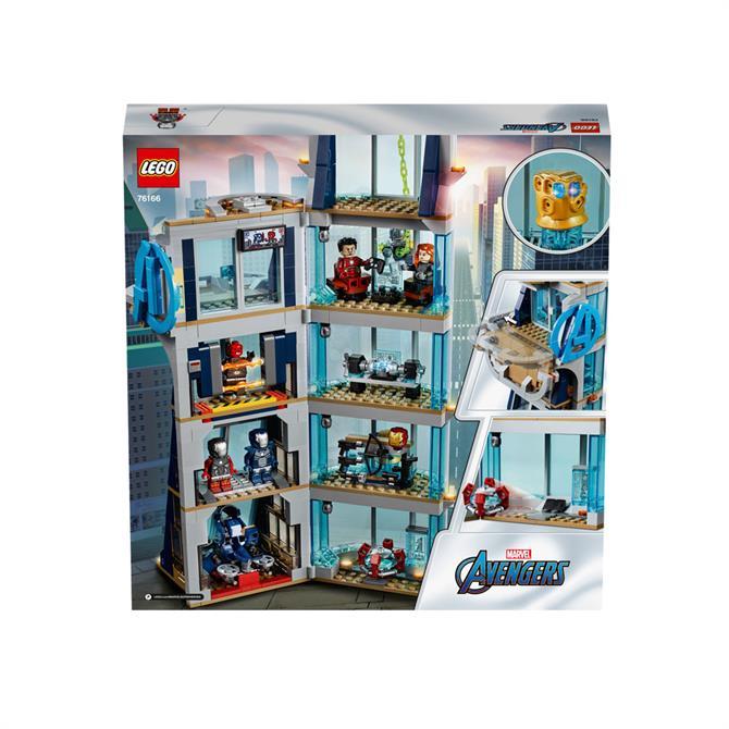 Lego Super Hero Avengers Tower Battle 76166