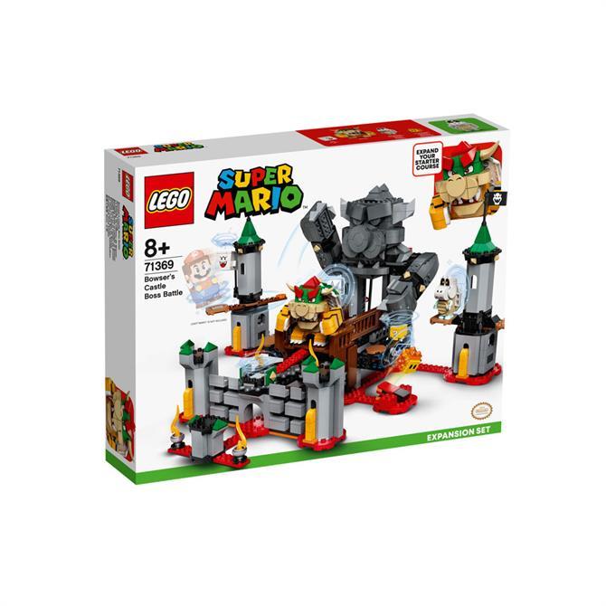 Lego Super Mario Bowsers Castle Boss Battle Expansion 71369