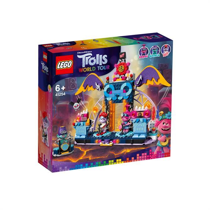 Lego Trolls World Tour Volcano Rock City Stage 41254