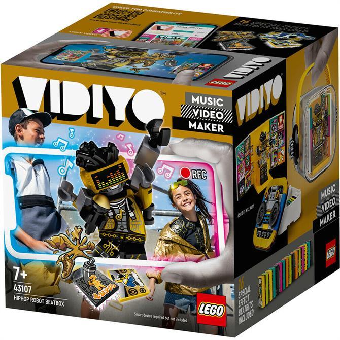 Lego VIDIYO HipHop Robot BeatBox Music Video Maker Toy 43107