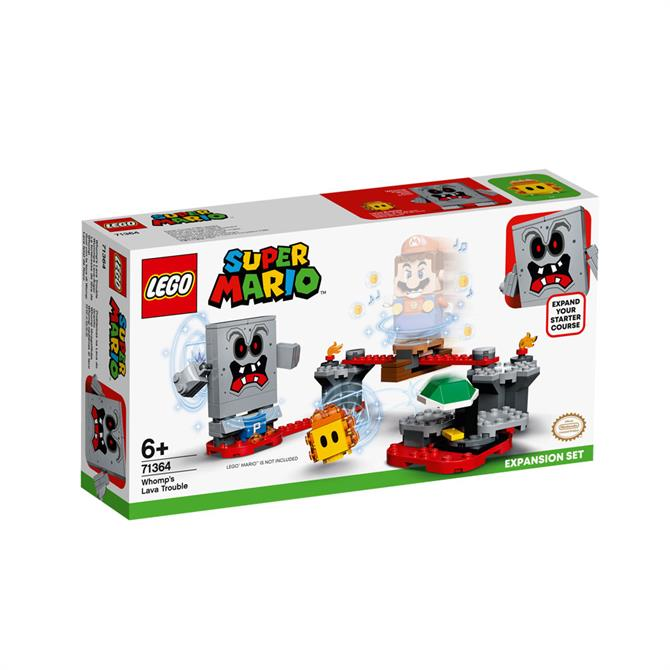 Lego Super Mario Whomps Lava Trouble Expansion Set 71364