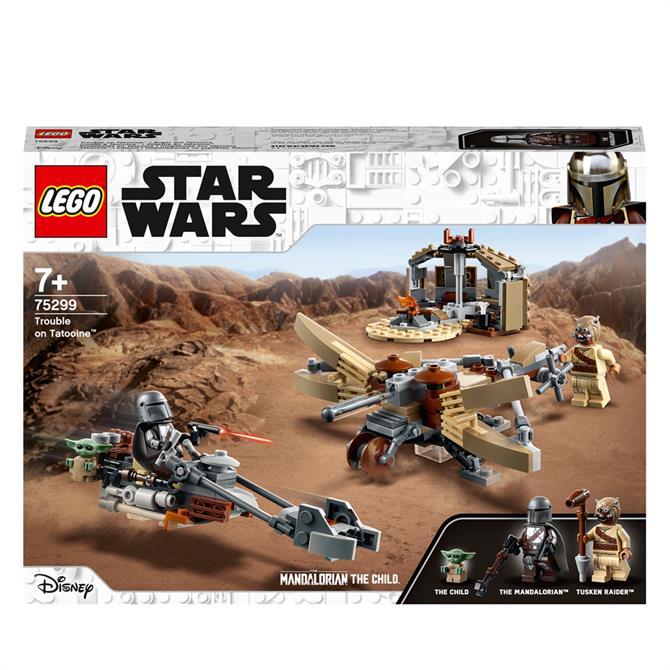 Lego Trouble on Tatooine 75299