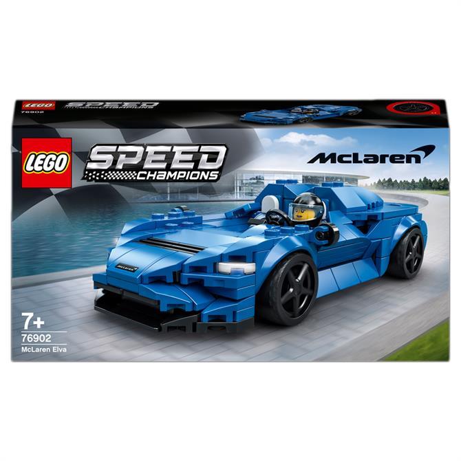Lego Speed Champions McLaren Elva Race Car Toy 76902