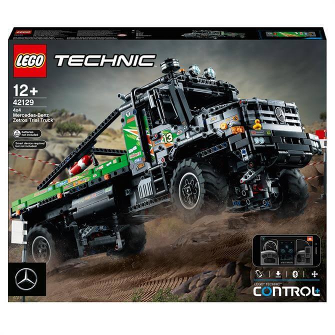 Lego App-Controlled Mercedes-Benz Zetros Trial Truck 42129