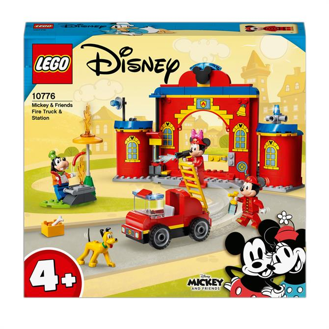 Lego Disney Mickey Mouse Fire Engine & Station 10776