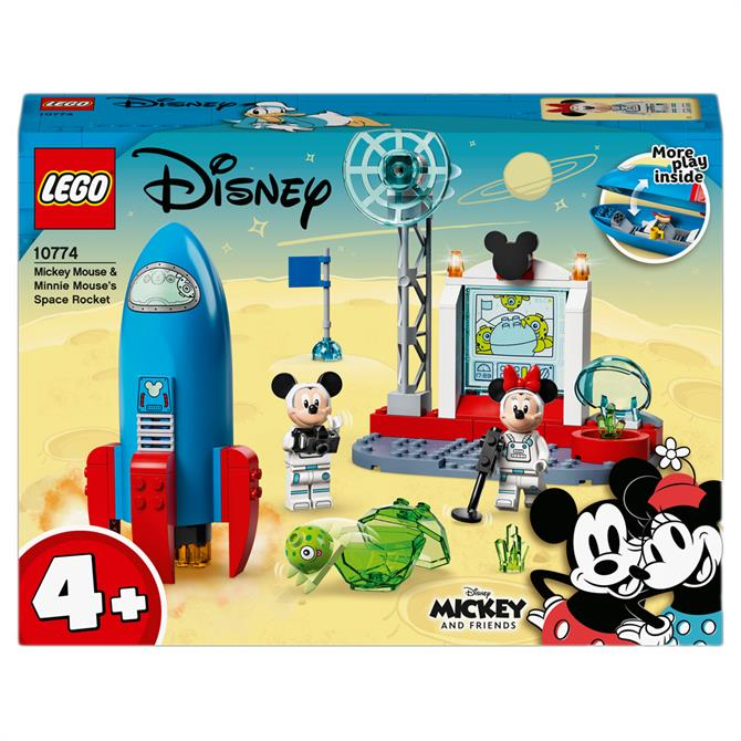 Lego Disney Mickey & Minnie Mouse Space Rocket 10774