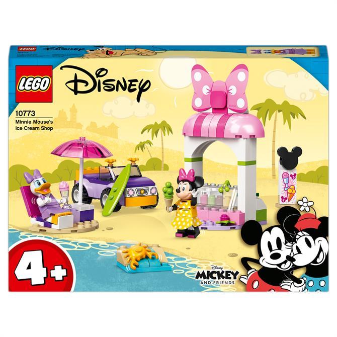 Lego Disney Mickey Mouse Minnie Ice Cream Shop 10773