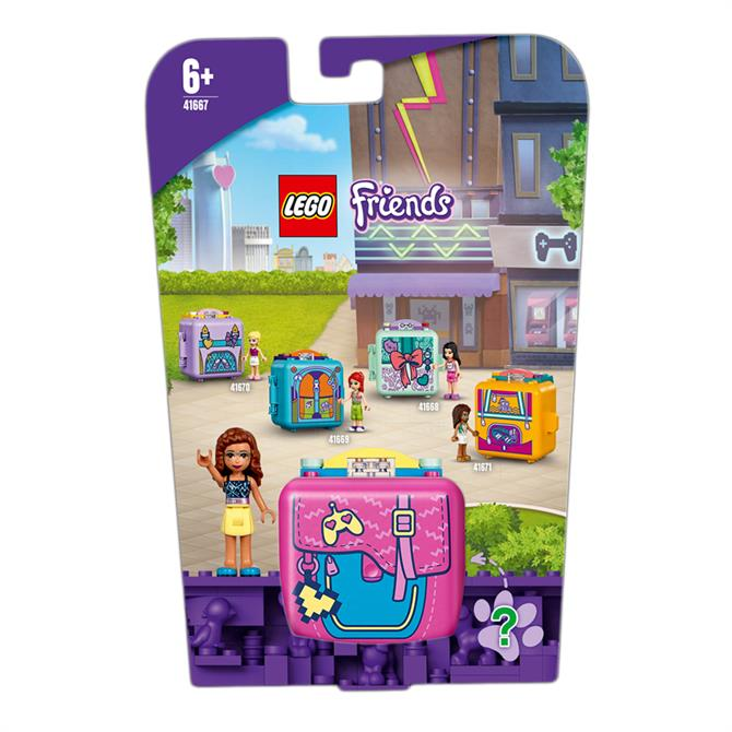 Lego Friends Olivia's Gaming Cube Play Set 41667