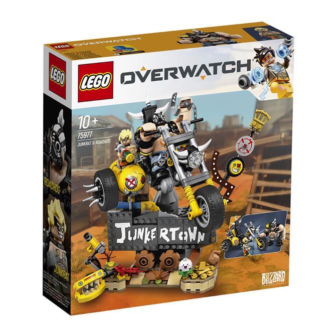 Lego Overwatch Junkrat & Roadhog Playset 75977