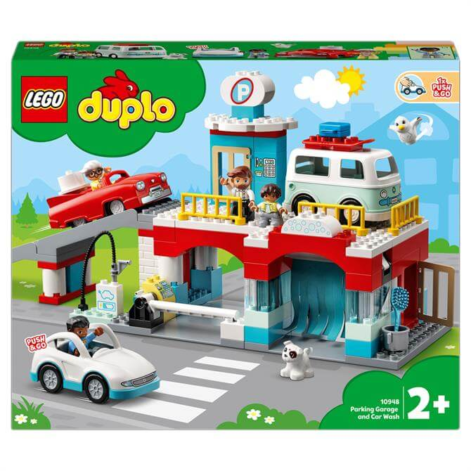 Lego Duplo Car Park and Car Wash Toddlers Toy 10948