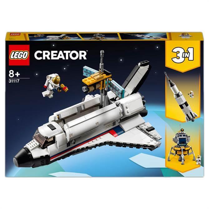 Lego Creator 3in1 Space Shuttle Adventure Set 31117