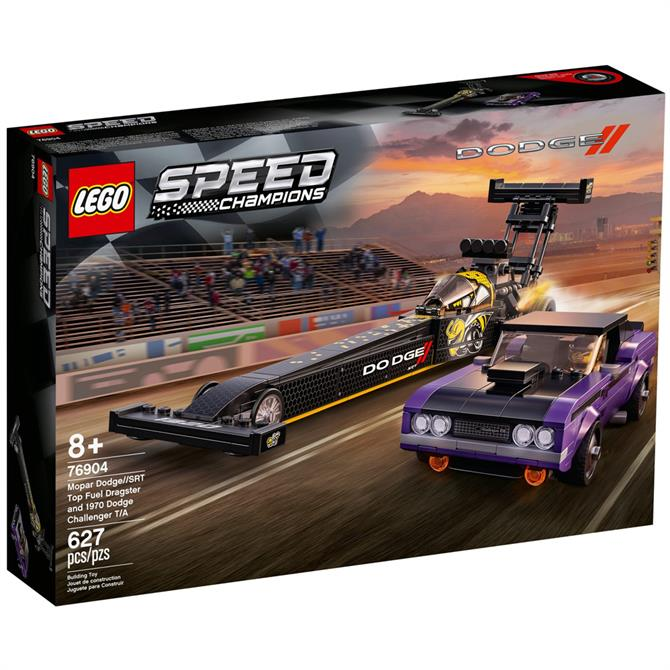 Lego Speed Champions Dragster Muscle Cars Toy 76904