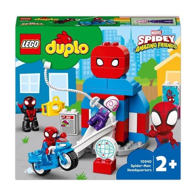 Lego Duplo Marvel Spider-Man Headquarters Set 10940