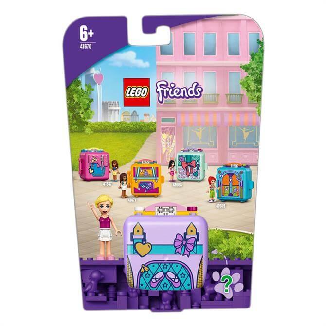 Lego Friends Stephanie's Ballet Cube Play Set 41670
