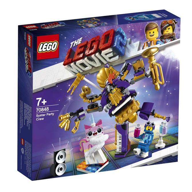 Lego Movie 2: Systar Party Crew
