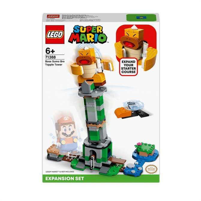 Lego Boss Sumo Bro Topple Tower Expansion Set 71388