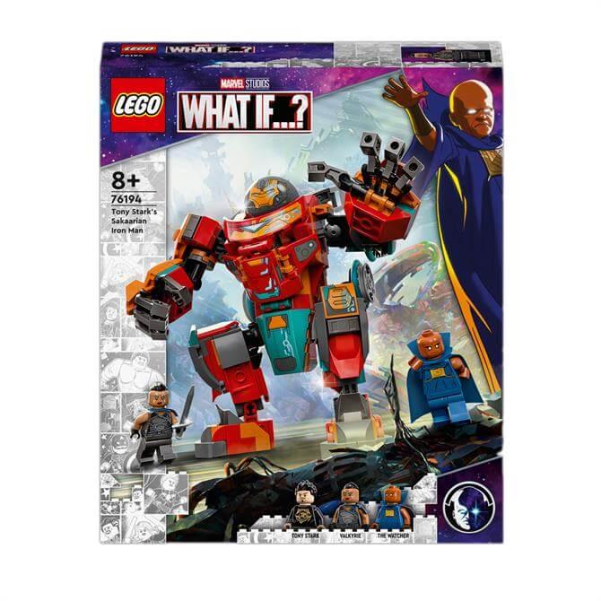 Lego Tony Stark's Sakaarian Iron Man 76194