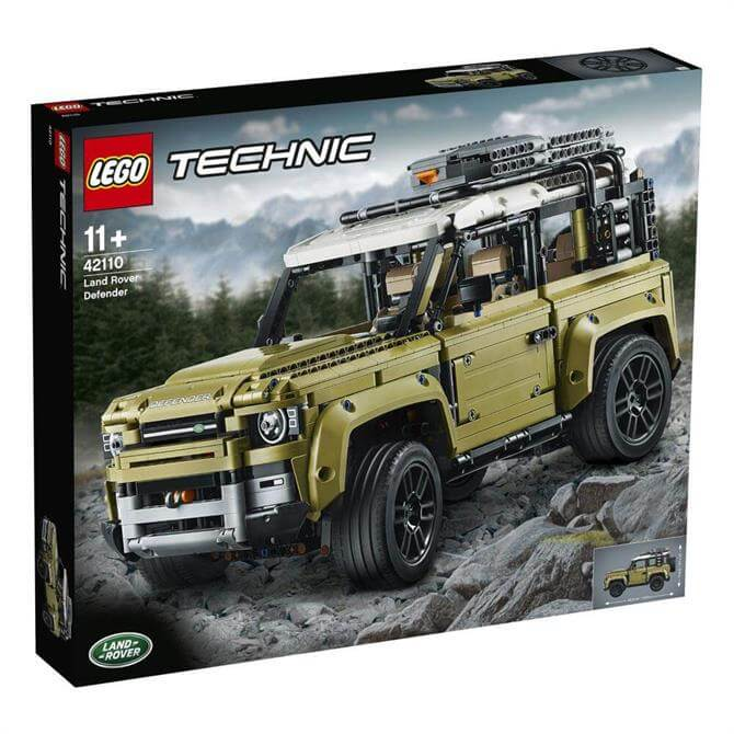 Lego Technic Land Rover Defender Set 42110