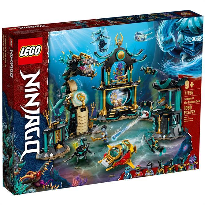 Lego Ninjago Temple of the Endless Sea 71755