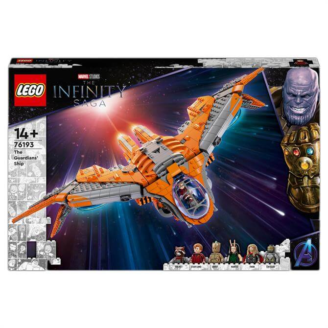 Lego Marvel The Guardians' Ship Avengers Set 76193