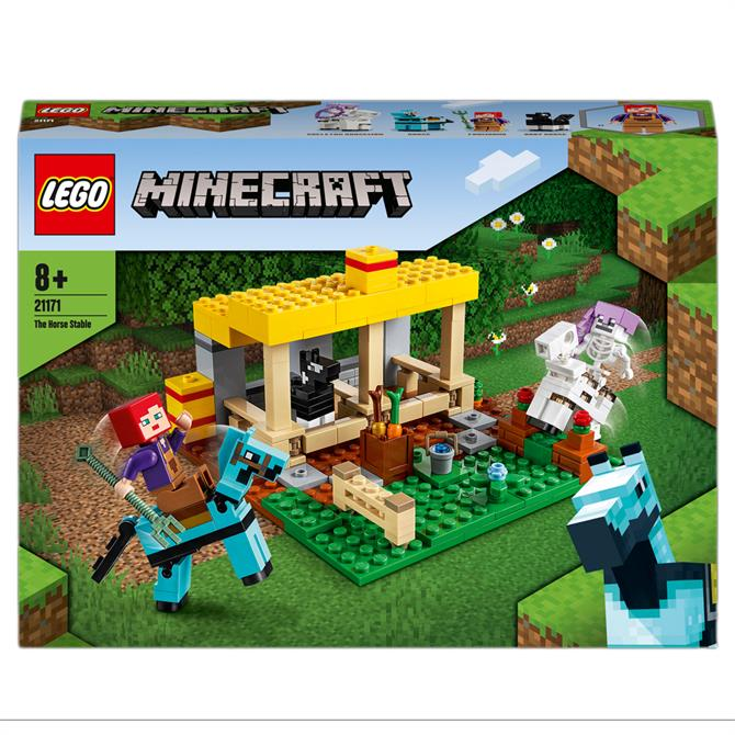 Lego Minecraft The Horse Stable Farm Toy 21171