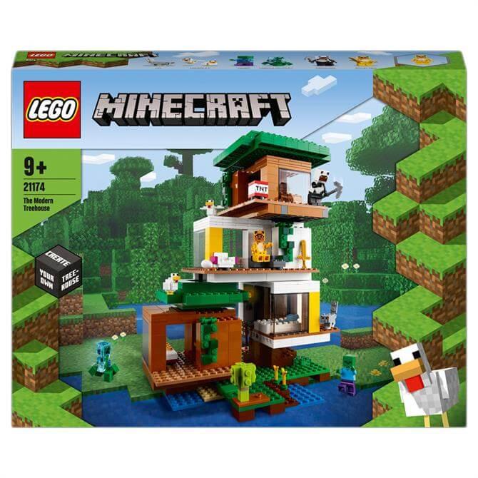 Lego Minecraft The Modern Treehouse Toy 21174