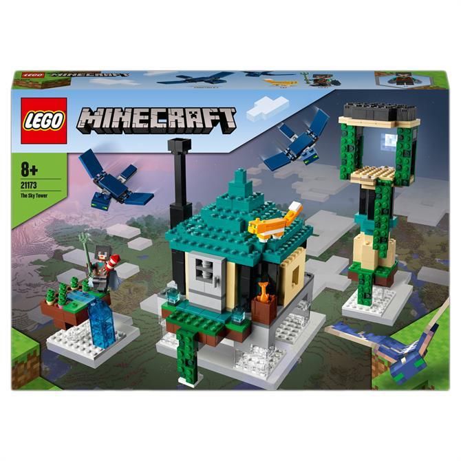 Lego Minecraft The Sky Tower Building Set 21173