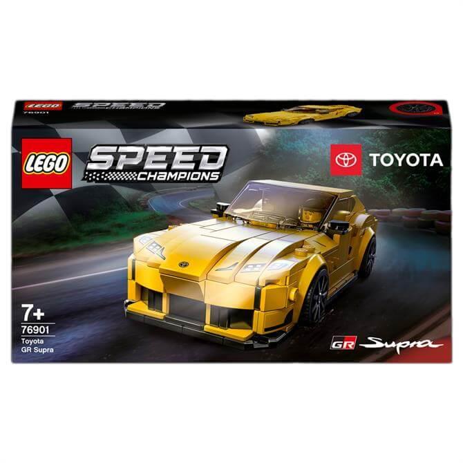 Lego Speed Champions Toyota GR Supra Racing Car Toy 76901