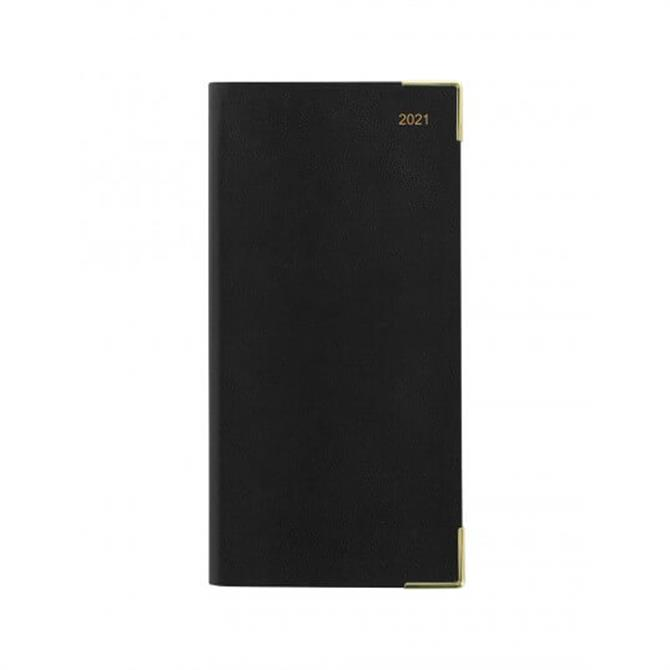 Letts 2021 Classic Slim Week to View Diary with Planners