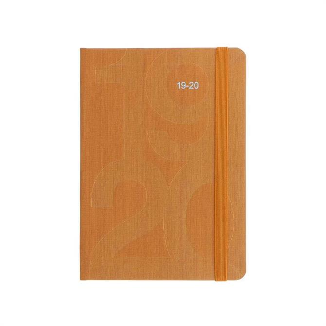Letts Orange Block A6 Day to Page with Appointments Diary 2019-20