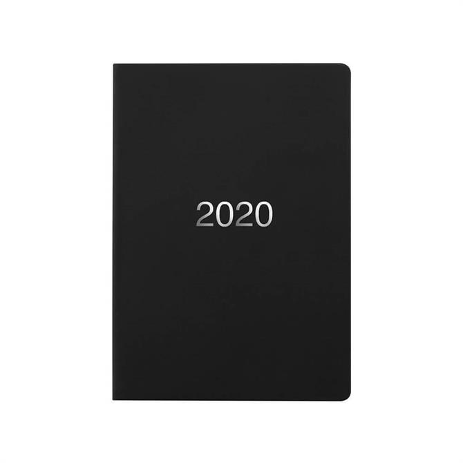 Letts Dazzle A5 Week To View Diary 2020 Black