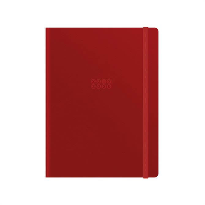 Letts Edge A5 Week to View with Notes 18 Month Diary 2019-20 – Red