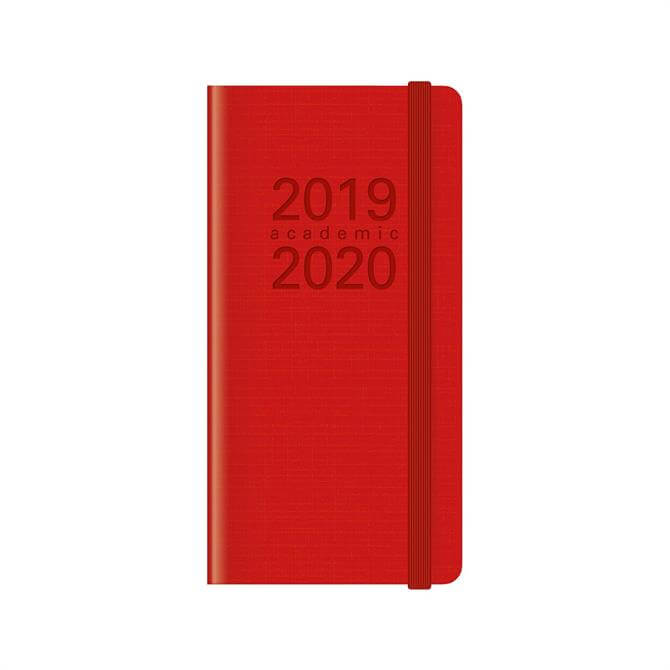 Letts Memo Slim Week To View Diary 2019-2020 – Red