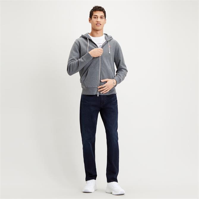 Levi's Grey New Original Zip Up Hoodie