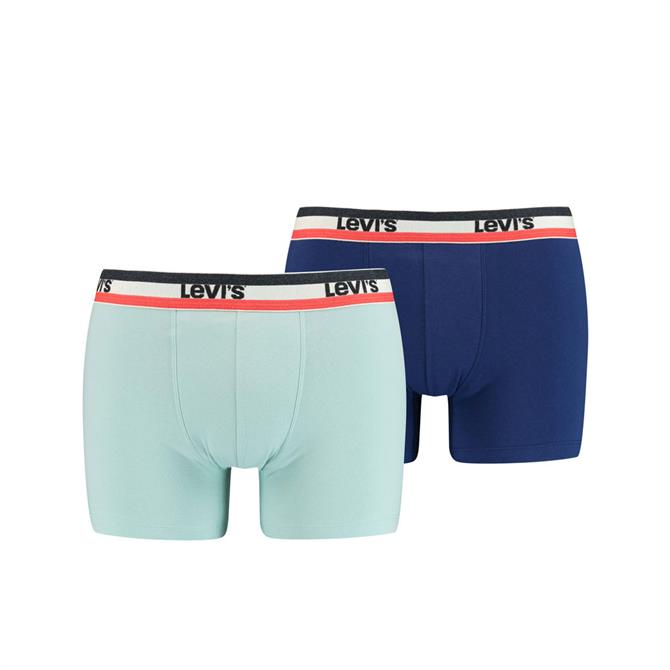 Levi's Men Sportswear Logo Boxer Brief 2pk