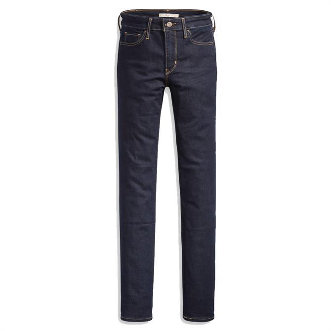 Levi's 721 High-Waisted To The Nine Skinny Jeans