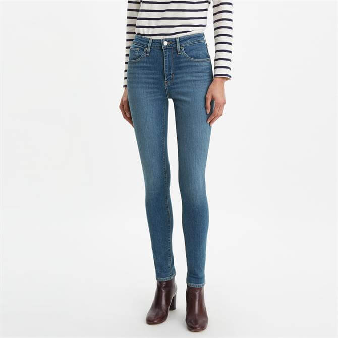 Levi's 721 High-Waisted Skinny Jeans, Los Angeles Sun