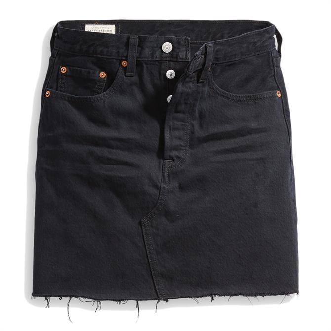 Levi's Deconstructed High Rise Skirt