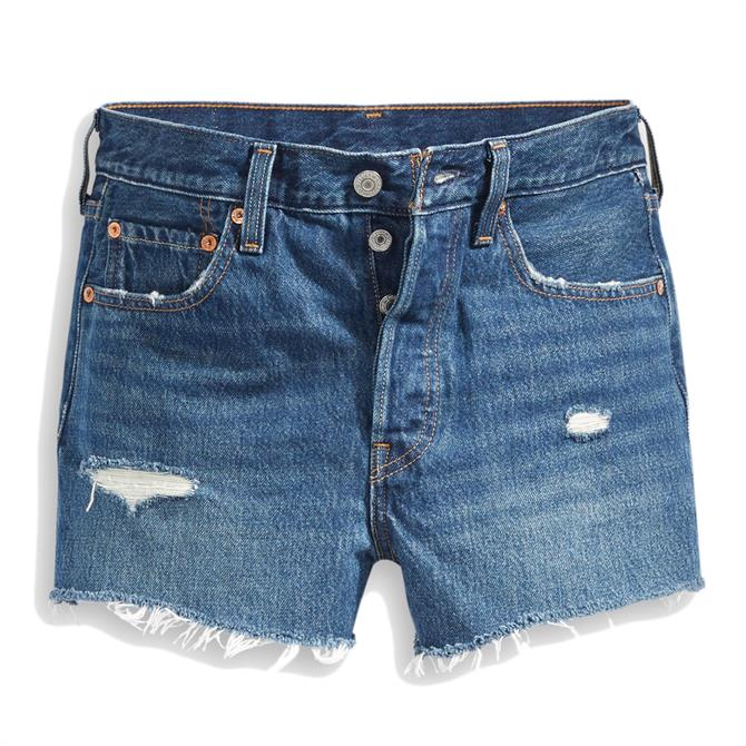 Levi's 501 High-Waisted Silver Lake Shorts